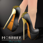 M O N N I E R - Dark Pumps